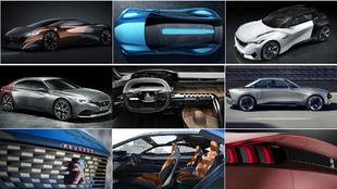 Algunos de los concept-car de Vidal, con fórmulas que han acabado en...