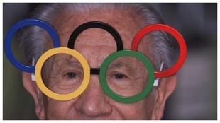 Juan Antonio Samaranch, durante los Juegos Olímpicos de Sidney 2000