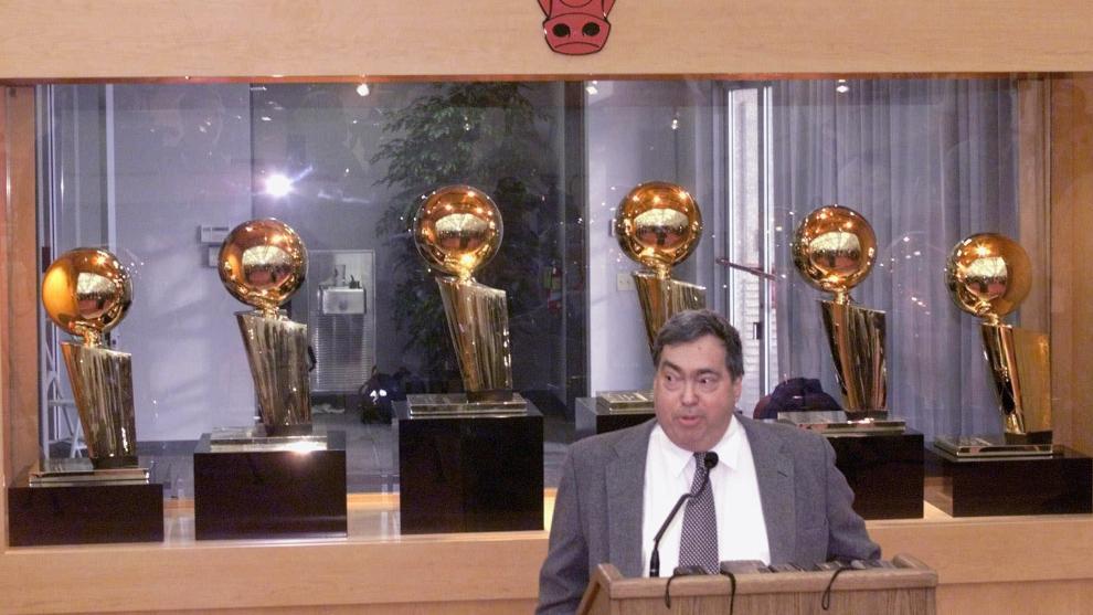 El legado de Jerry Krause en los Chicago Bulls cosecha opiniones...