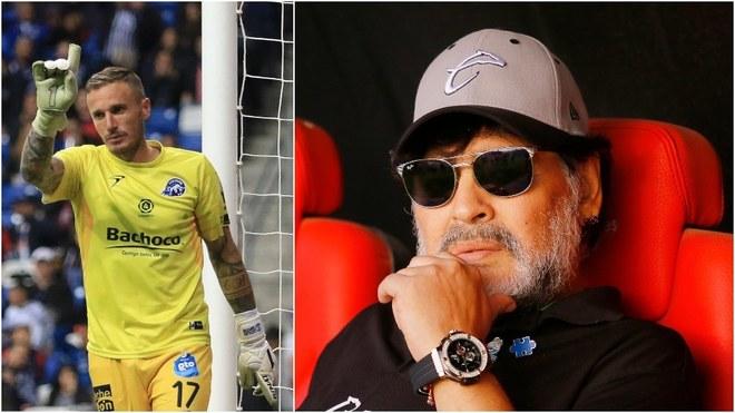 Maradona lo quiso llevar a Bielorrusia.