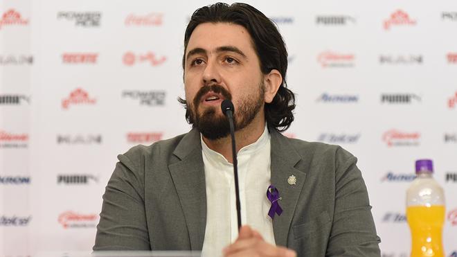 Amaury Vergara, presidente de las Chivas