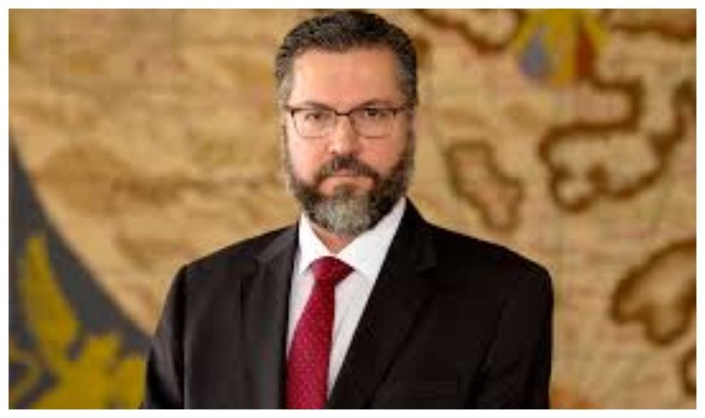 Ernesto Araujo, ministro de Exteriores de Brasil.