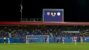 Inauguración del estadio Johan Cruyff.