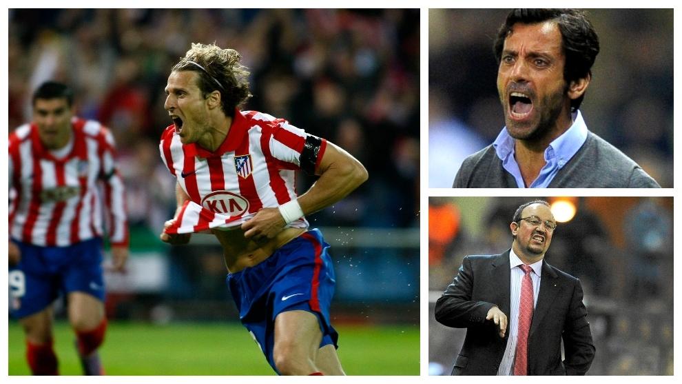Atletico - Liverpool: Forlan, Quique Sanchez Flores y Rafa Benitez