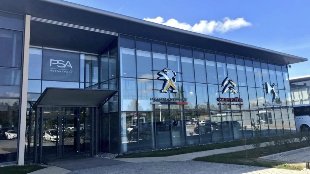 Sede central de PSA Motorsport, en Versalles.