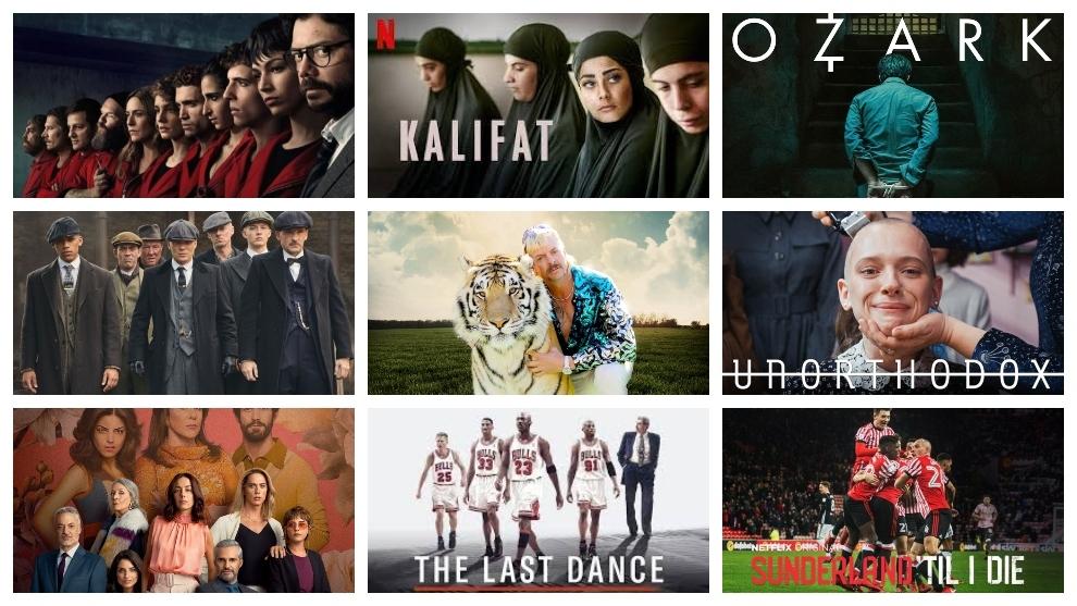 Mejores Series Las 10 Series De Netflix De Moda En El Confinamiento El último Baile Unorthodox Kalifat Marca Com