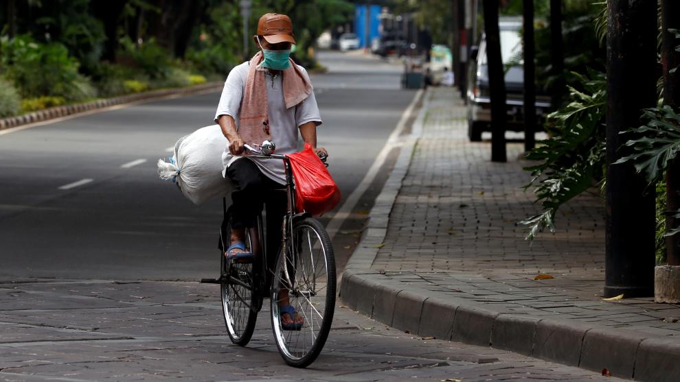 Ante la pandemia por el COVID.19 lo mejor es usar la bici