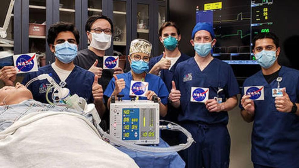 La NASA diseñó ventiladores para combatir el coronavirus.
