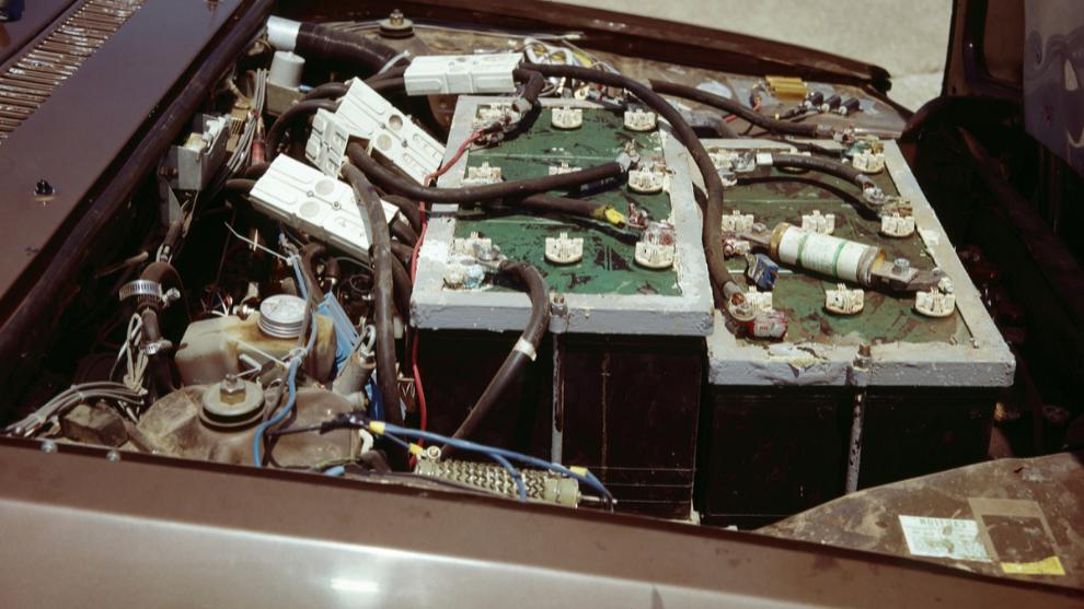 Las enormes baterías que equipaba originalmente y que serán...