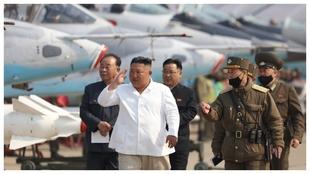 Kim Jong-un, en su última aparición en públic.