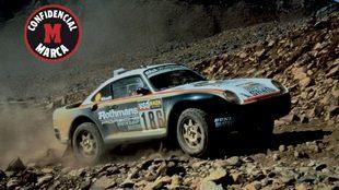 Un Porsche podría volver al Dakar.