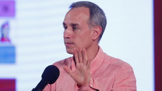 Hugo López-Gatell en conferencia de prensa nocturna sobre el...