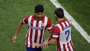 Costa, sustituido en la final de Lisboa