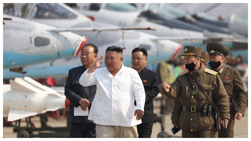 Kim Jong-un, en un acto público.