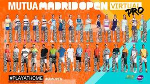 Murua Madrid Open virtual pro con Rafa Nadal, David Ferrer, Andy...