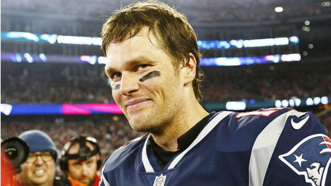 Tom Brady, con la camiseta de los Patriots.