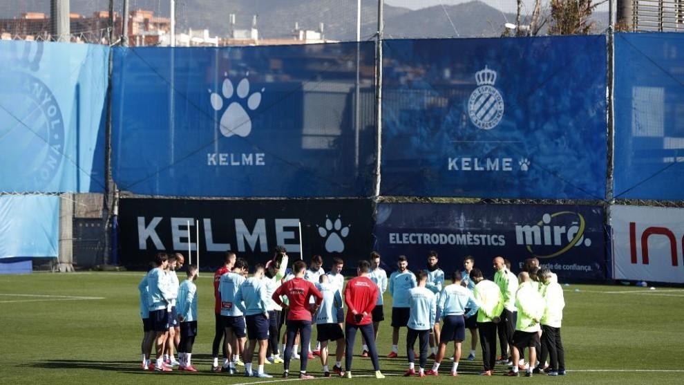 Jugadores del Espanyol