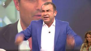 Jorge Javier Vázquez explota en pleno directo.