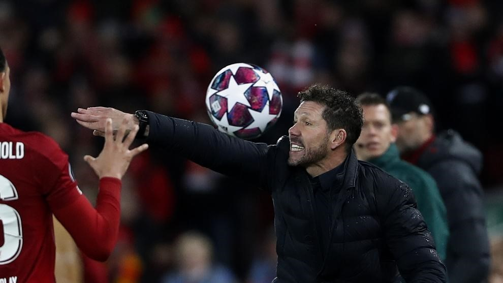 Atletico Madrid aren't favourites for the Champions League, and nor do they want to be