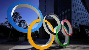 Los aros olímpicos