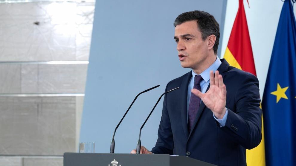 Pedro Sanchez anuncia el plan de desescalada del Gobierno
