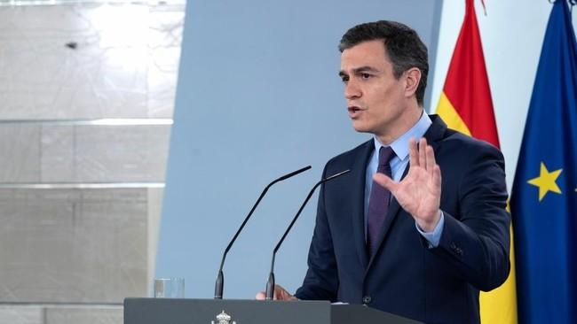 Pedro Sanchez comparecencia en directo presentando el plan de...