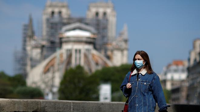 Así luce París en medio de la pandemia.