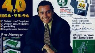 Michael Robinson en PC Fútbol 4.0