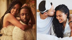 Gabrielle Union y Dwyane Wade vs Stephen Curry y Ayesha Curry