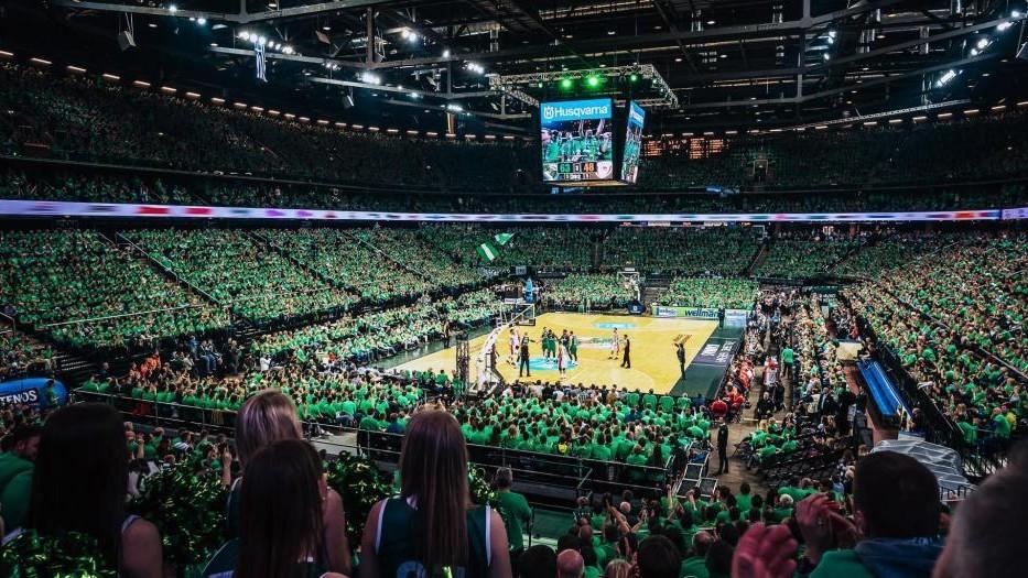 Una panorámica del Zalgirio Arena.