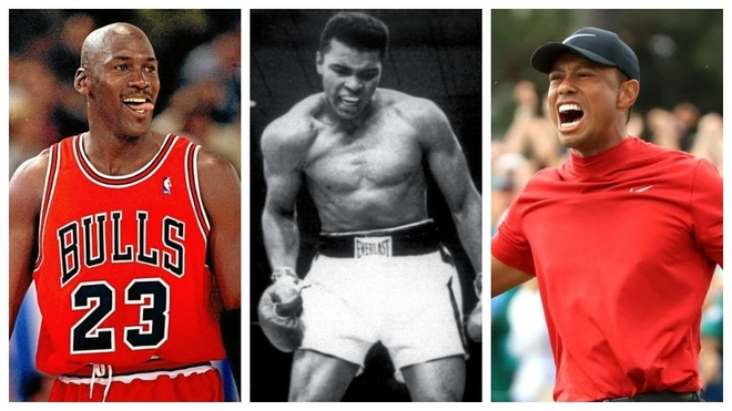 Jordan, Ali y Tiger.