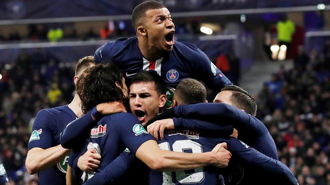 El PSG es campeón de Francia tras el coronavirus.