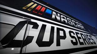 El logo de la NASCAR.
