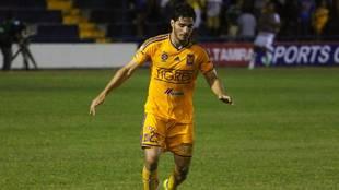 Antonio Briseño durante su paso por Tigres