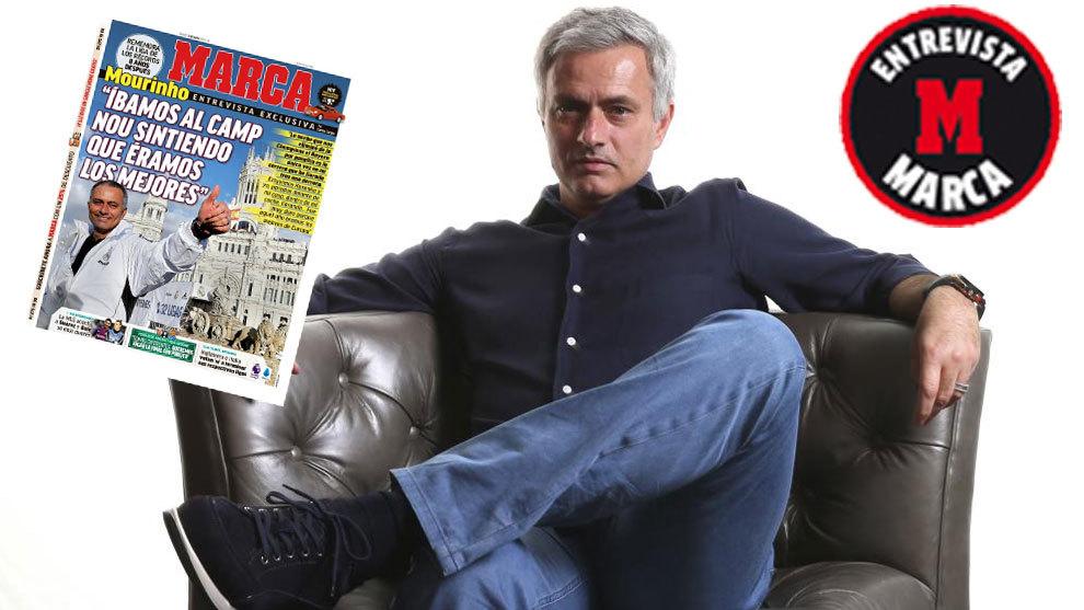 """José Mourinho: """"Aquel año, el Madrid era el mejor equipo de España y de Europa"""""""