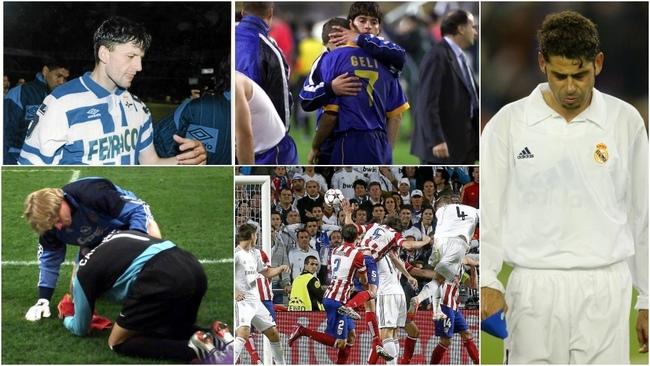 Djukic y 'su' penalti, Cañizares en San Siro, Geli en propia meta,...