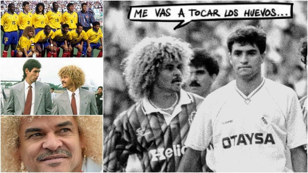Las confesiones de Valderrama: la 'agarrada' de Míchel, las amenazas por el Mundial '94 y el asesinato que le marcó para toda la vida