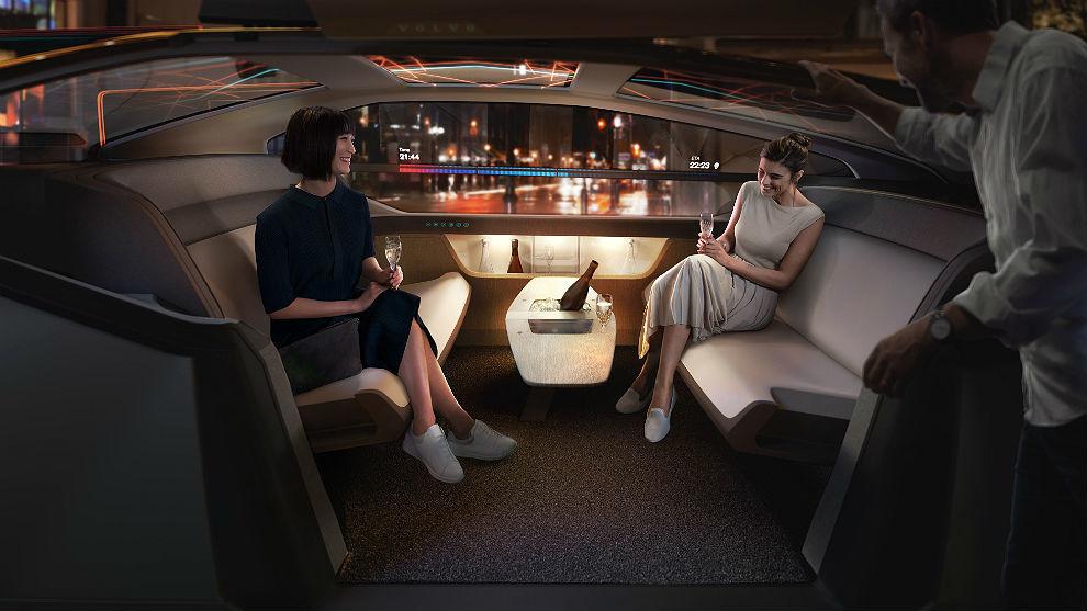 Imagen promocional del Concept Volvo 360c.