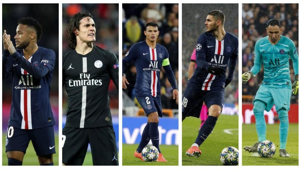 La otra cuarentena del PSG: Neymar, Thiago Silva, Cavani, Icardi y Navas aún no tienen fecha de regreso