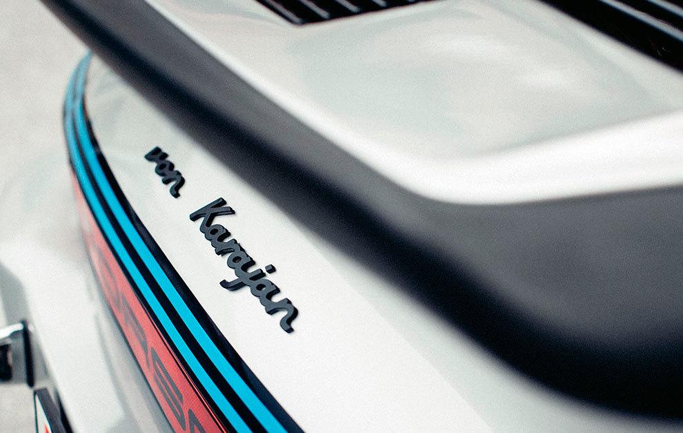 El nombre utilizaba la tipografía tan conocida en Porsche.