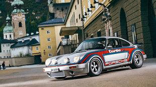 Los parachoques delanteros eran los de un Carrera RS.