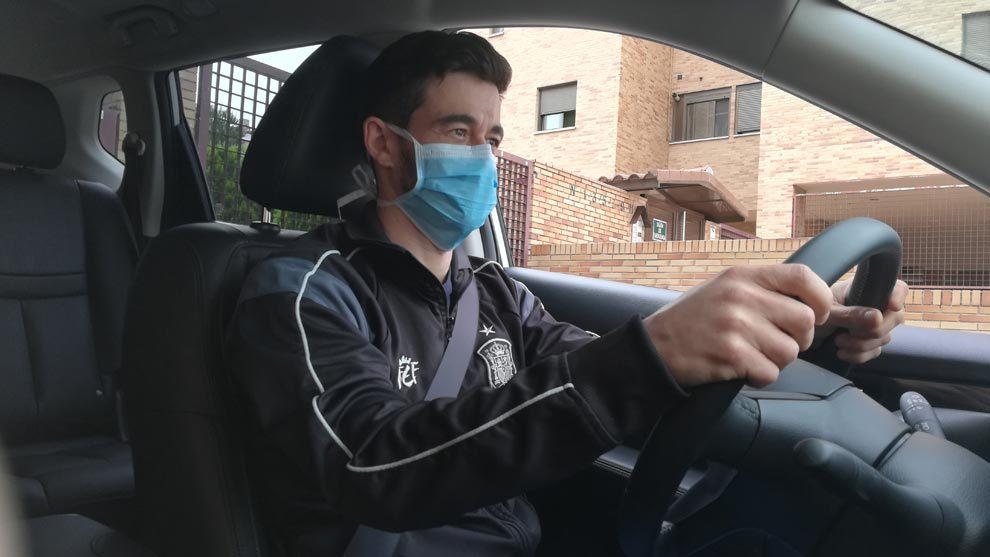 Las mascarillas empiezan a ser obligatorias en los coches, según la...