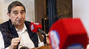 Augusto César Lendoiro, en una entrevista en Radio MARCA.