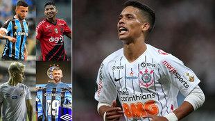 Cinco jugadores del Brasileirao listos para jugar en Europa.