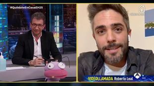 Pablo Motos y Roberto Leal en El hormiguero