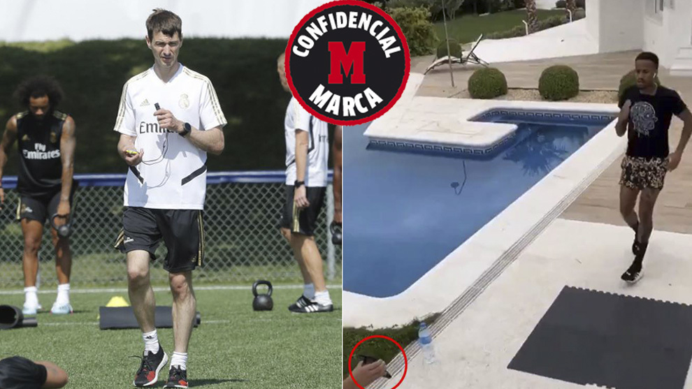 Dupont already overseeing Real Madrid players' training through video calls
