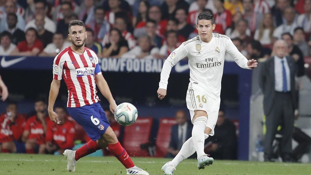 James Rodriguez's move to Atletico 'died' after 7-3 win against Real Madrid thumbnail