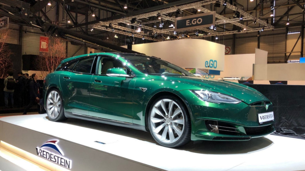 El Tesla Model Shooting Brake en el Salón de Ginebra de 2019
