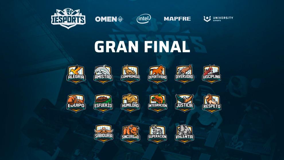 Comienza la Gran Final Nacional de la Liga IESports 2020