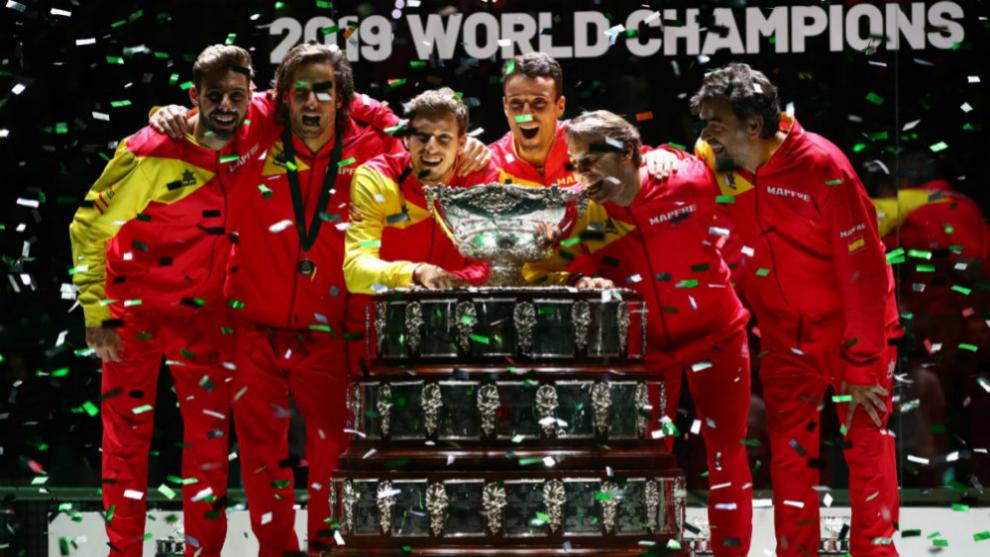 España, campeona de la 'Nueva Copa Davis' tras la victoria de Nadal a Shapovalov